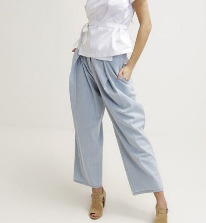 The Fifth Label Spodnie materiałowe light blue
