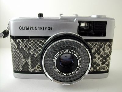 Black & White Snakeskin Late Trip 35 | Camera Sales | Trip Man