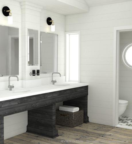www.jeysenolesen.se © : master bathroom visual by johanna hammarén : beach house project, stockholm archipelago
