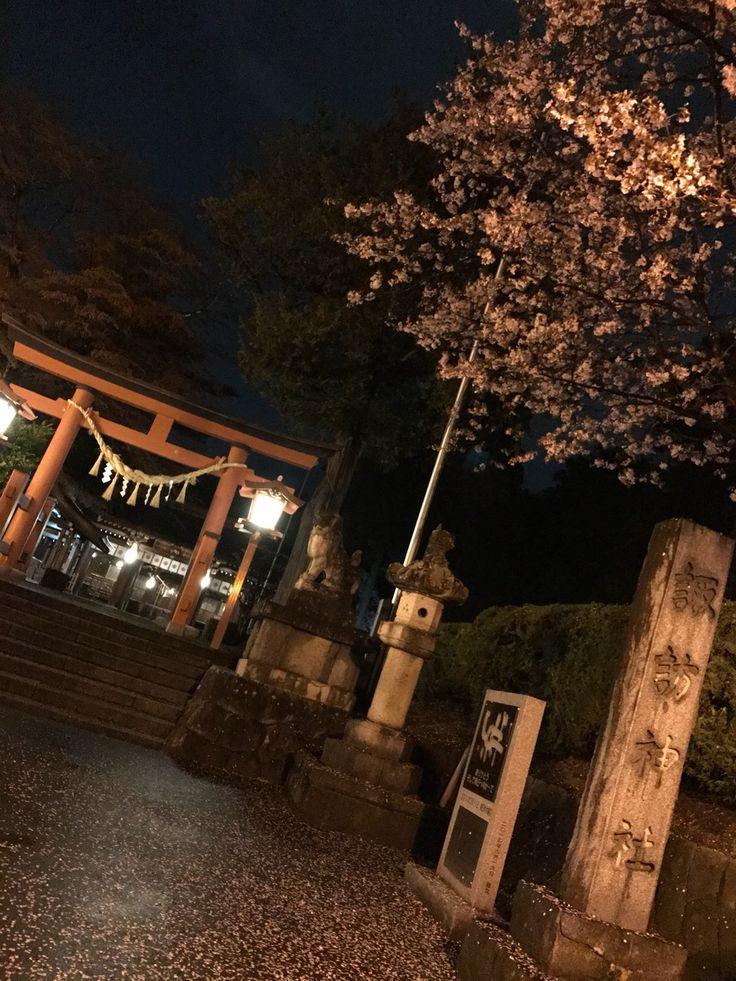🌸@ 諏訪神社