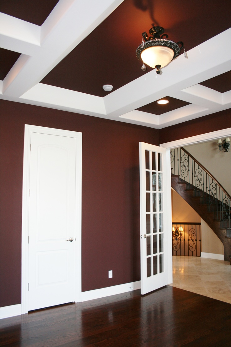 Walls And Ceilings SW6048 Terra Brun Call For Free Estimate 219 762 8388
