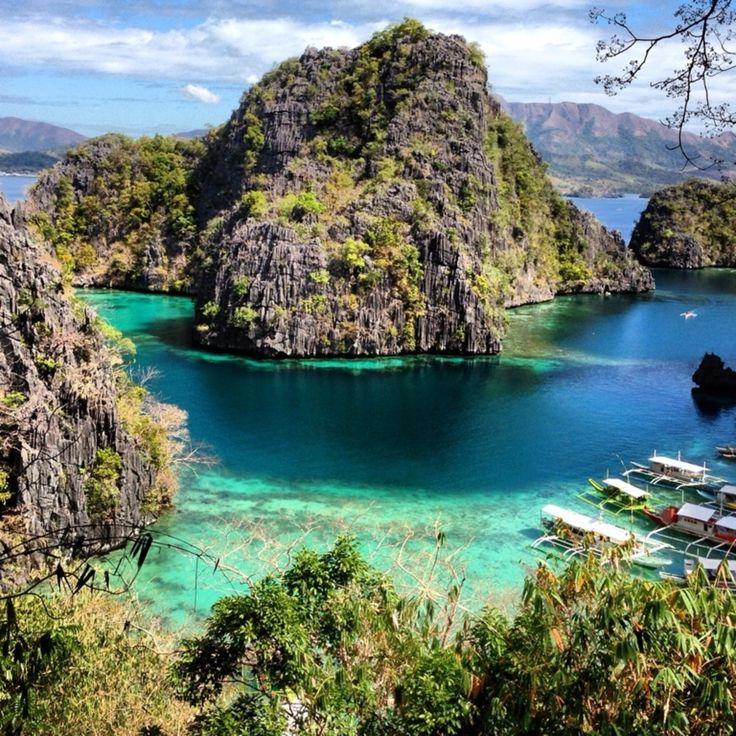 Kayangan Lake, Coron Island, Coron, Philippines