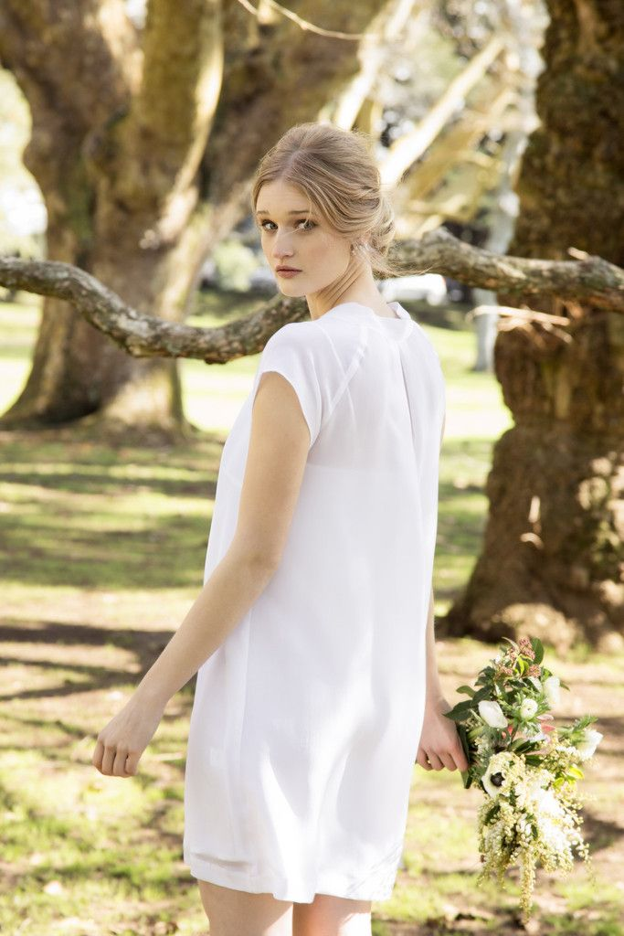Bow Back Dress from the Staple + Cloth Occasions Collection | Made in New Zealand | Wedding | Bride | Bridesmaid | Ball Dresses | Occasion wear |