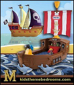 79 best images about kid quilts on pinterest pirates for Boys pirate bedroom ideas