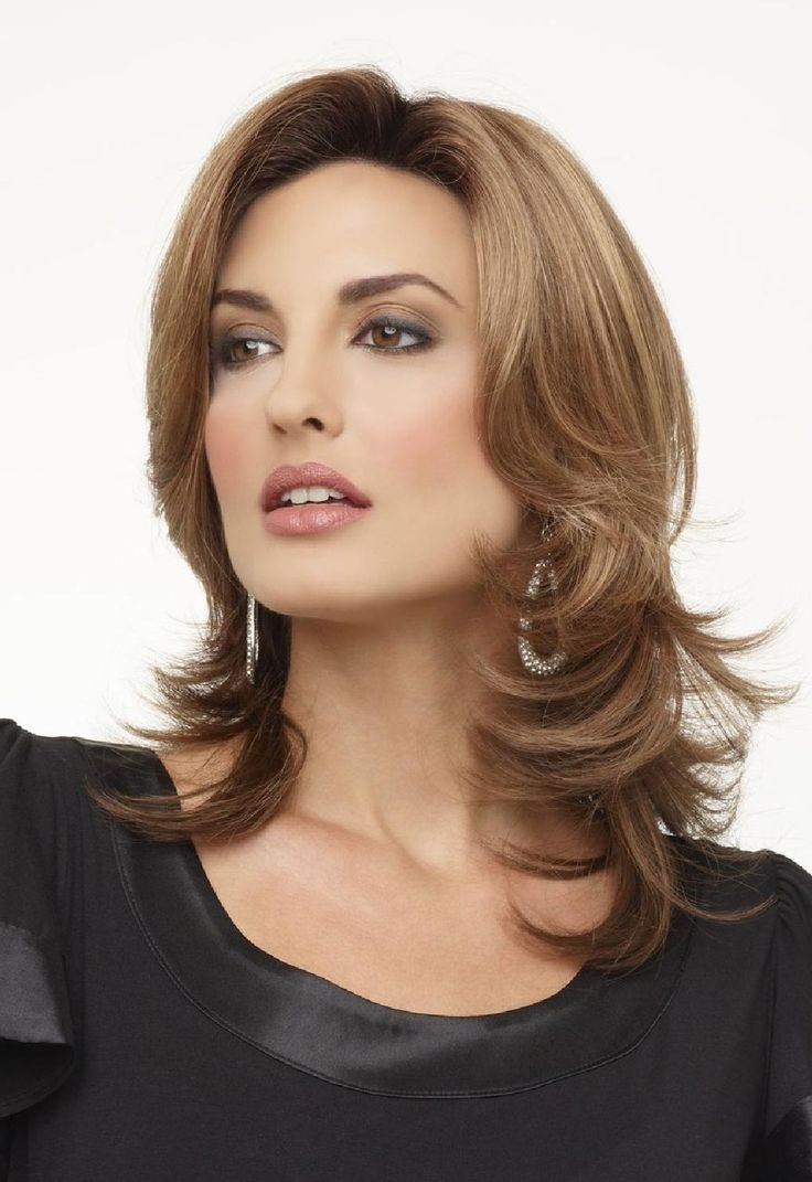 Womens Medium Length Layered Haircuts Hairstyle Ideas