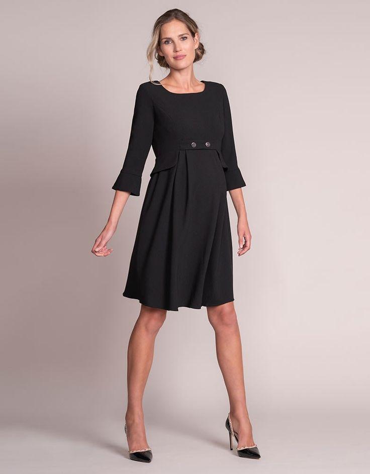 93fa47e1ecf31 Black Tailored Maternity Dress   Joyful & Healthy Pregnancy Tips ...