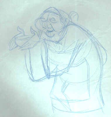 how to draw a grandma easy