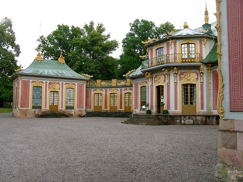 The Chinese Pavilion at Drottningholm Palace