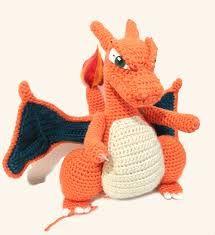 Amigurumi Pokemon Charizard : 1000+ images about Pokemon Crochet on Pinterest Pokemon ...