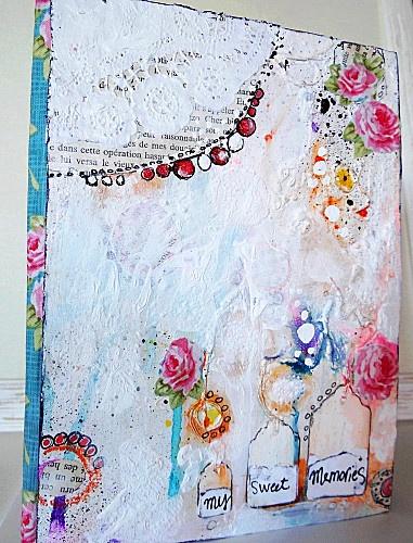 Françoise Melzani mixed media art    ...BTW,Check this out:  http://artcaffeine.imobileappsys.com