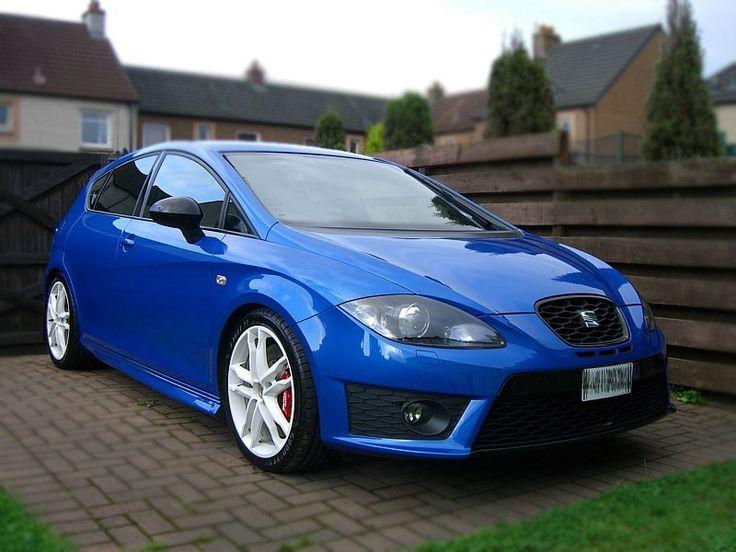2010 speed blue MK2 Leon Cupra