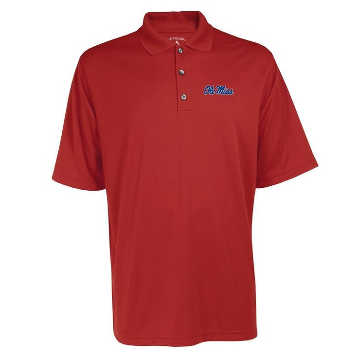 Men's Ole Miss Rebels Exceed Desert Dry Xtra-Lite Performance Polo, Size: Large, Red