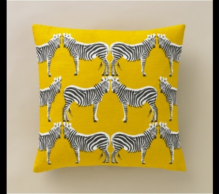 Another way to decorate with stripes!