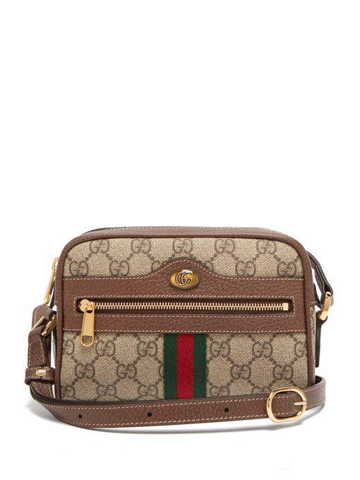 c35dcbe4feb9 Gucci Ophidia GG Supreme cross-body mini bag | bags | Gucci shoulder ...