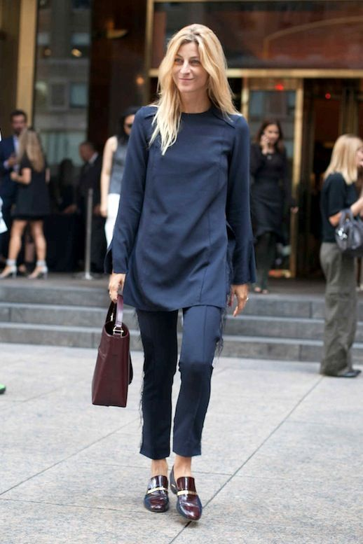 Street Style: A Minimal Look For The Office