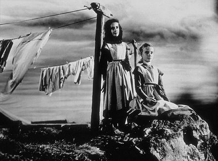 """""""Jane Eyre"""" Elizabeth Taylor, Peggy Ann Garner 1944.."""