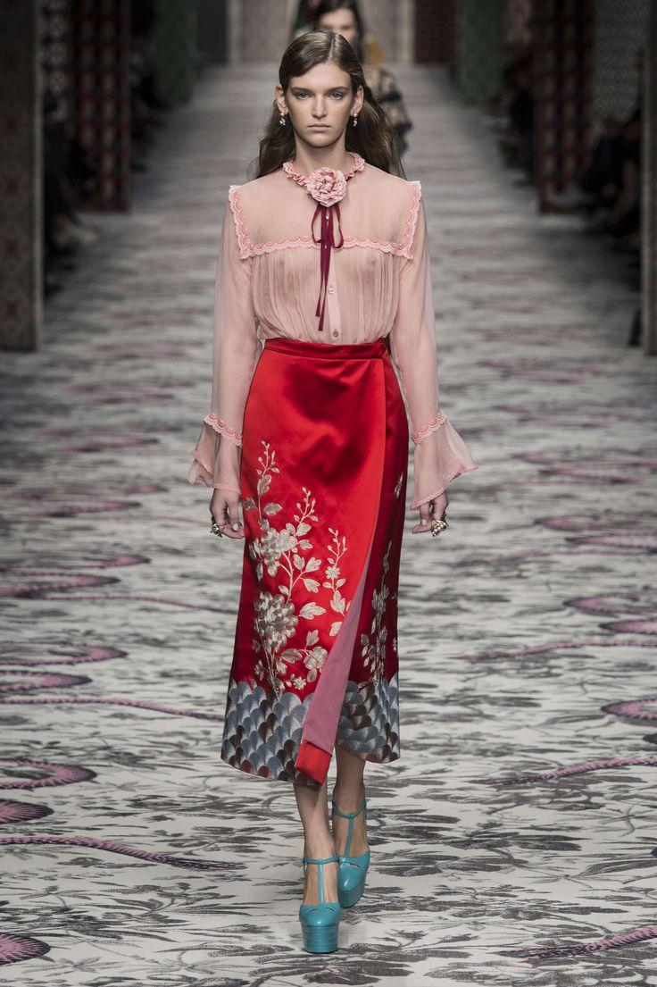 Gucci Primavera/Verano 2016, Moda para mujer - Desfiles (#22901)