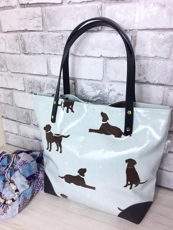 e2d66bd6fb Oilcloth bag