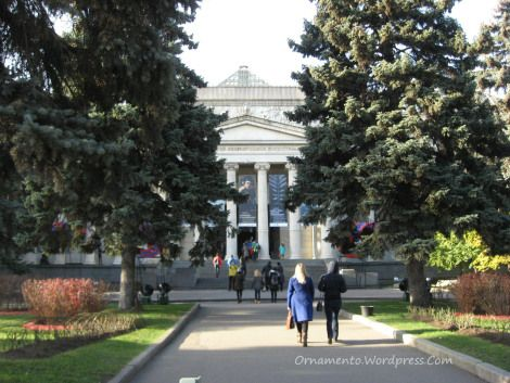 Some Things I Saw at the Pushkin Museum