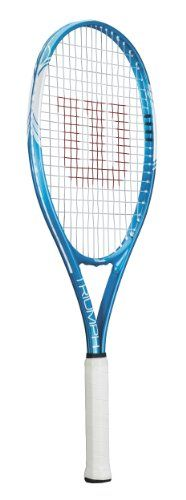 Wilson Sporting Goods Triumph Adult Strung Tennis Racket without Cover - http://tennissuperstore.exercise-equipment-for-home.com/wilson-sporting-goods-triumph-adult-strung-tennis-racket-without-cover/