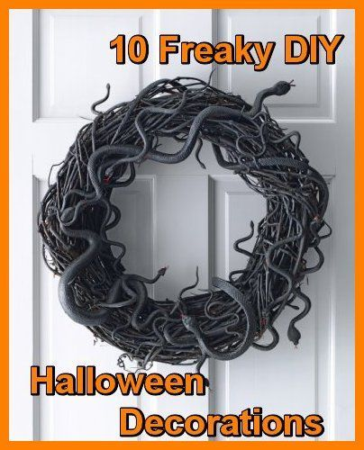 106 best images about diy halloween decorations on for Halloween decorations you can make at home