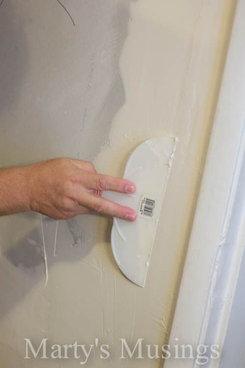 Wall Repair and Sheetrock Tutorial from Marty's Musings