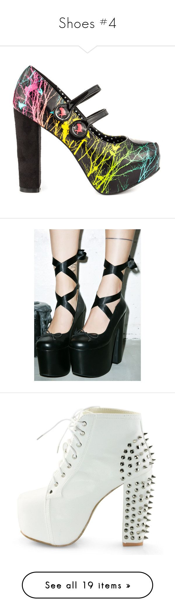 """""""Shoes #4"""" by headbangingunicorn ❤ liked on Polyvore featuring shoes, pumps, heels, high heel mary janes, mary jane shoes, blue mary jane pumps, mary jane pumps, multi-color pumps, ballerina pumps and heel pump"""