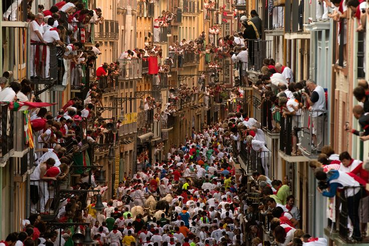 San Fermin festival 2013: Running of the Bulls