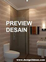 JASA DESAIN KAMAR MANDI: Jasa desain interior kamar mandi Minimalis Modern