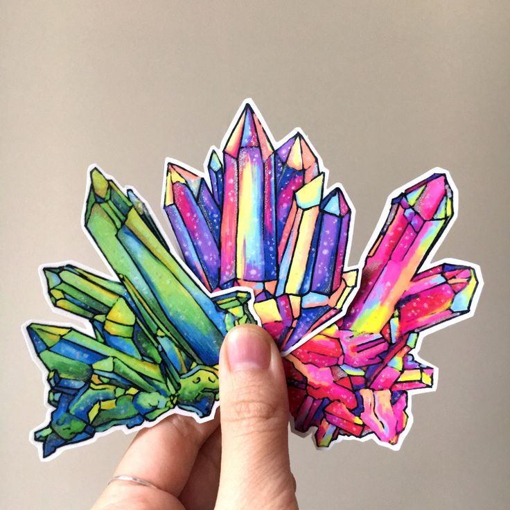 http://sosuperawesome.com/post/159212333356/handmade-shimmery-crystal-cluster-stickers-by