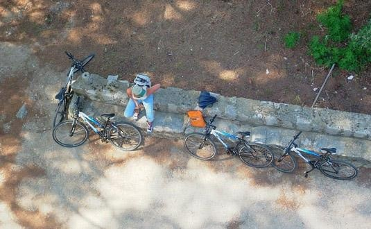 Cycling / biking Sipan Island, Croatia