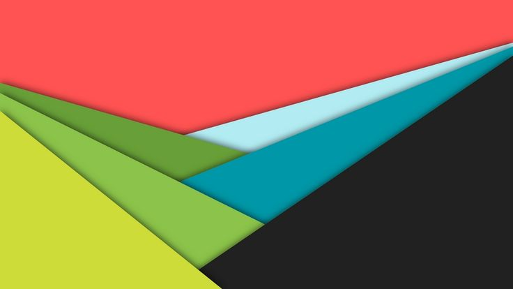 MATERIAL DESIGN BACKGROUND Background in material design with layers in three shades of green, red, blue and gray colors. #material #design #wallpaper #background #triangles #red #green #blue #yellow #gray #free #download #freebie #freebies #protium #protiumdesign