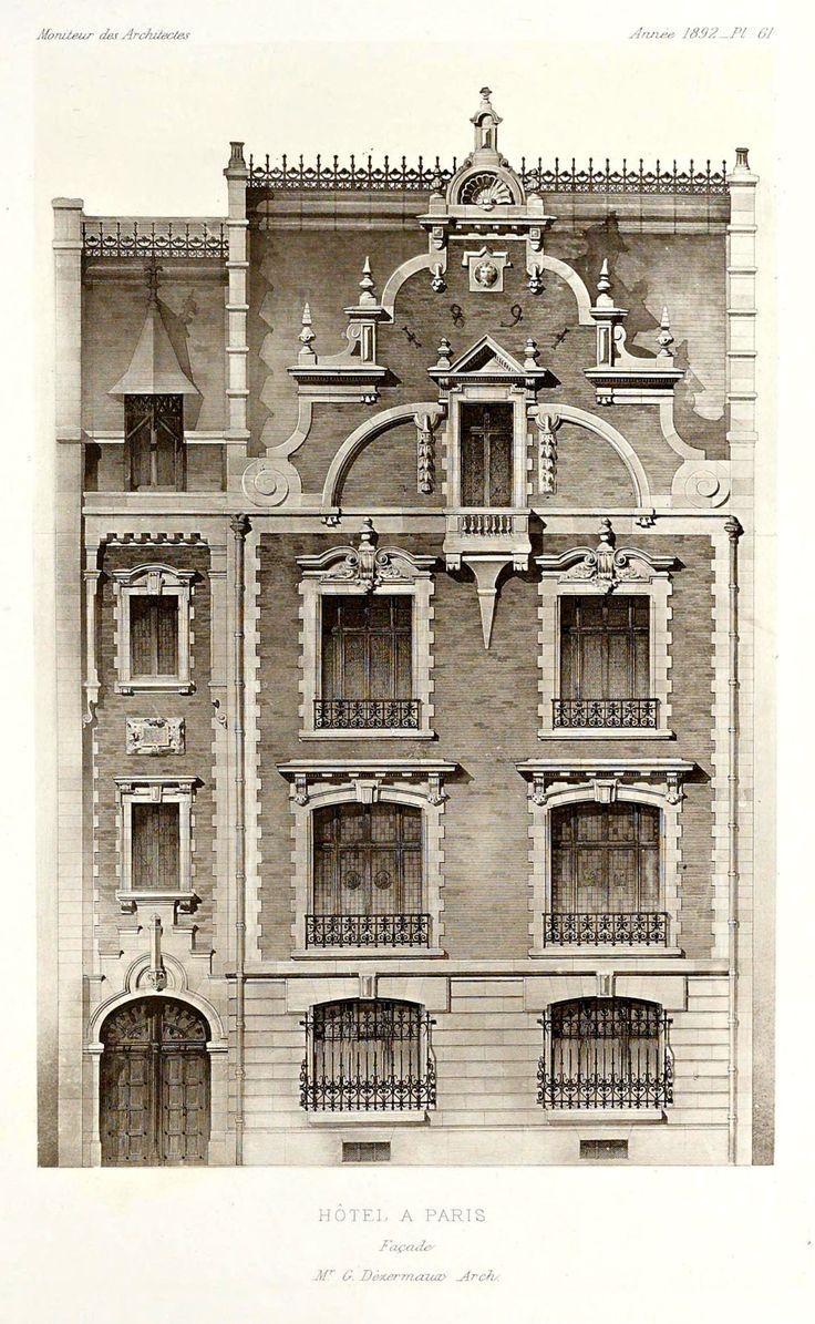 608 best images about architettura on pinterest mansions for Architecture noir et blanc