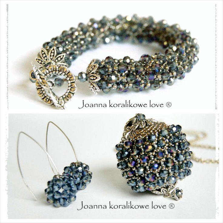 Earrings Bracelet Pendant Capricho Kolczyki Zawieszka Bransoleta