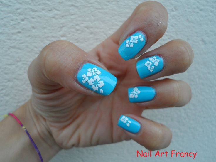Tutorial Nail Art Hawaiana