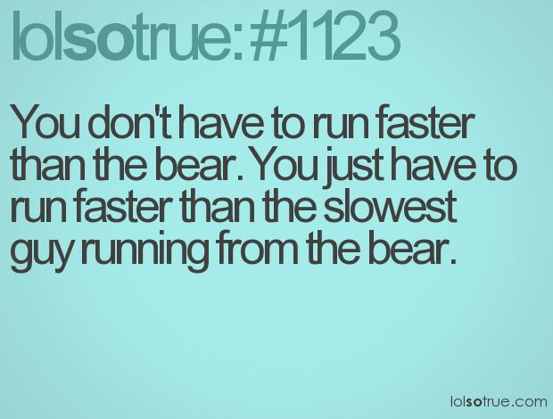 how to run faster than anyone