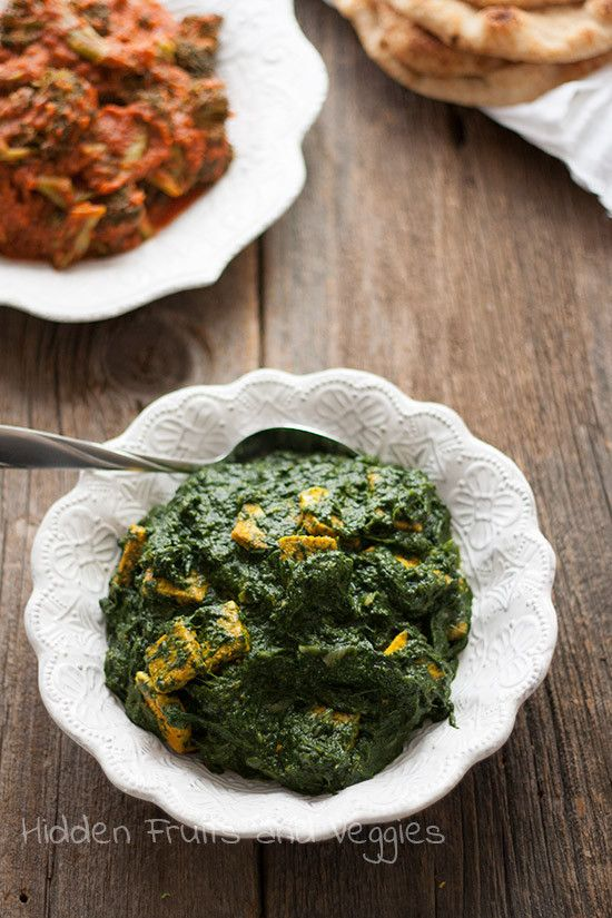 Tofu Paneer Saag   Recipes to Try   Pinterest