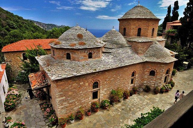 Greek Orthodox Religious Tourism: Ιερά Μονή Ευαγγελισμού της Θεοτόκου, Σκιάθος