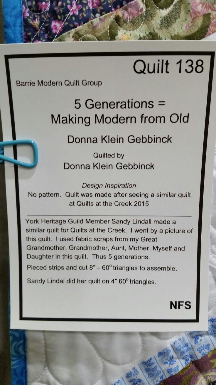5 Generation Quilt