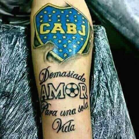 Tatuajes De Boca Juniors Realmente Espectaculares Tatuajess