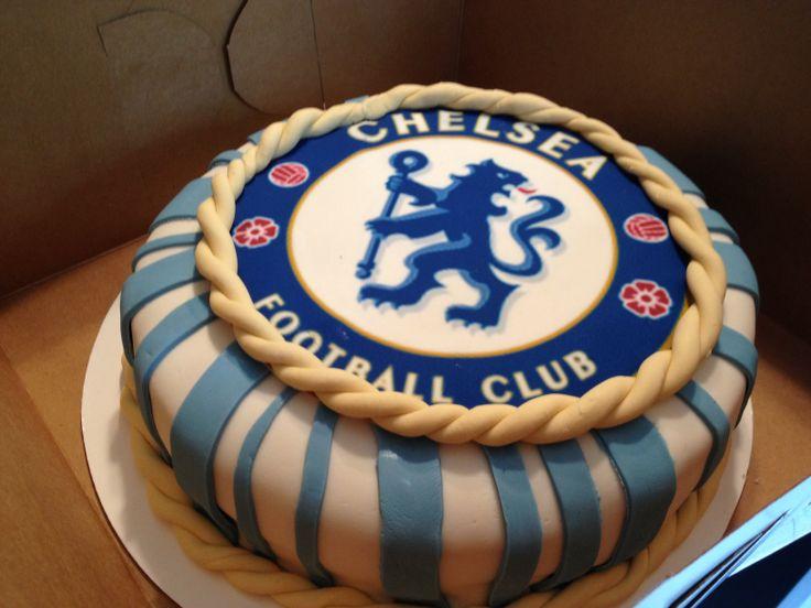 Chelsea Pinterest: CFC Forever ! Chelsea FC Cake