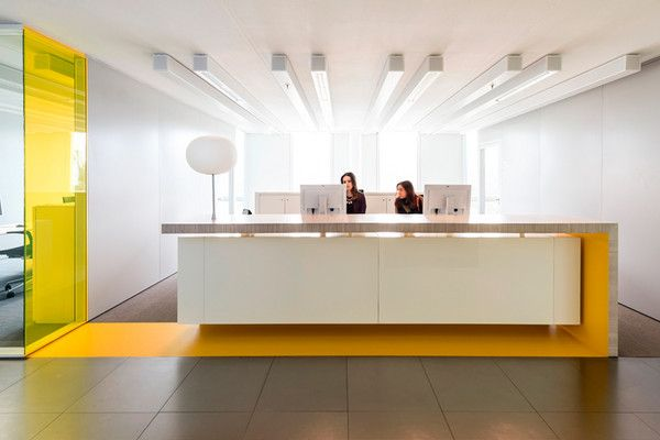 Interieur corporate learning centre westraven clc for Front office design interior