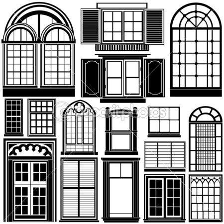 Vektor ablak — Stock Illusztráció #8940337