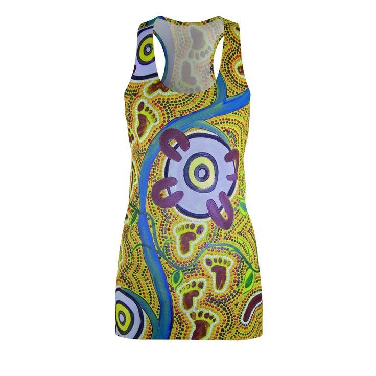 Woman's Cut & Sew Racerback Dress