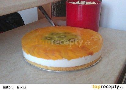 Ovocný dortík se želatinou recept - TopRecepty.cz