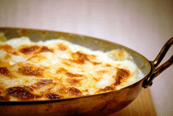 Potatoes Gratin - Dauphinoise - Jacques Pepin Recipe
