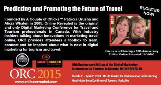 ORC 2015: Predicting and Promoting A Look at The Future of Travel Marketing