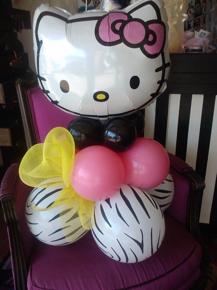 Best hello kitty party images on pinterest balloon