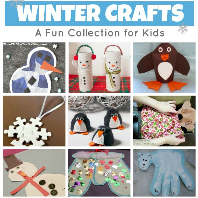 20 hands-on winter crafts for preschoolers that can be done in the classroom or home. They are perfect for your winter theme!