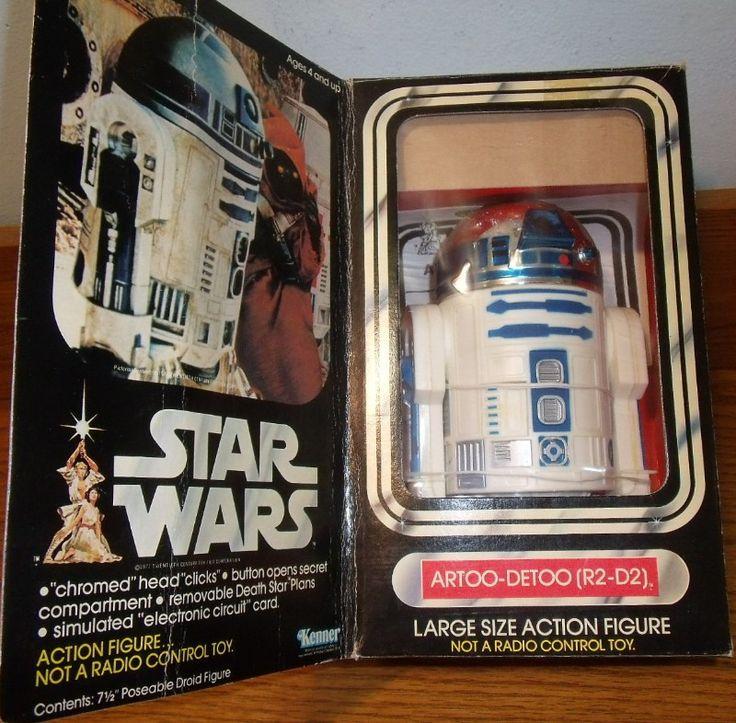 KENNER: 1977 Star Wars R2-D2 Large Action Figure